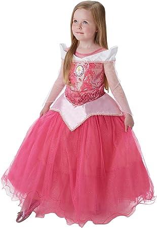 Princesas Disney - Disfraz de Bella Durmiente Premium para niña ...