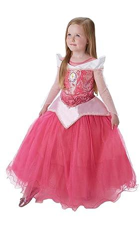 Princesas Disney - Disfraz de Bella Durmiente Premium para niña, infantil 3-4 años (Rubies 620471-S)