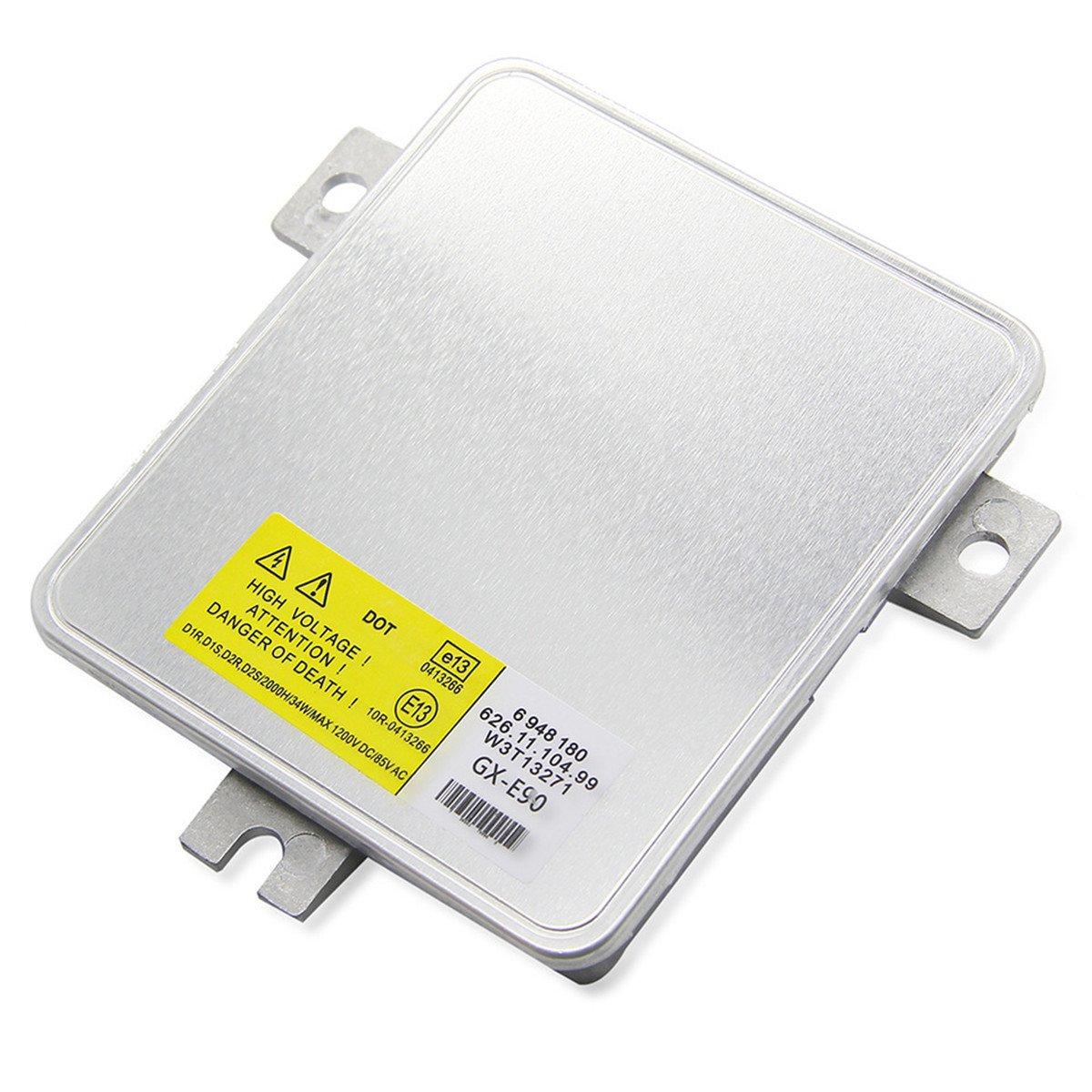 FEZZ Car D1S Xenon HID Headlight Ballast Control Module OEM 6948180 63126948180 W3T13271 12V 35W for E90 E91 06-08
