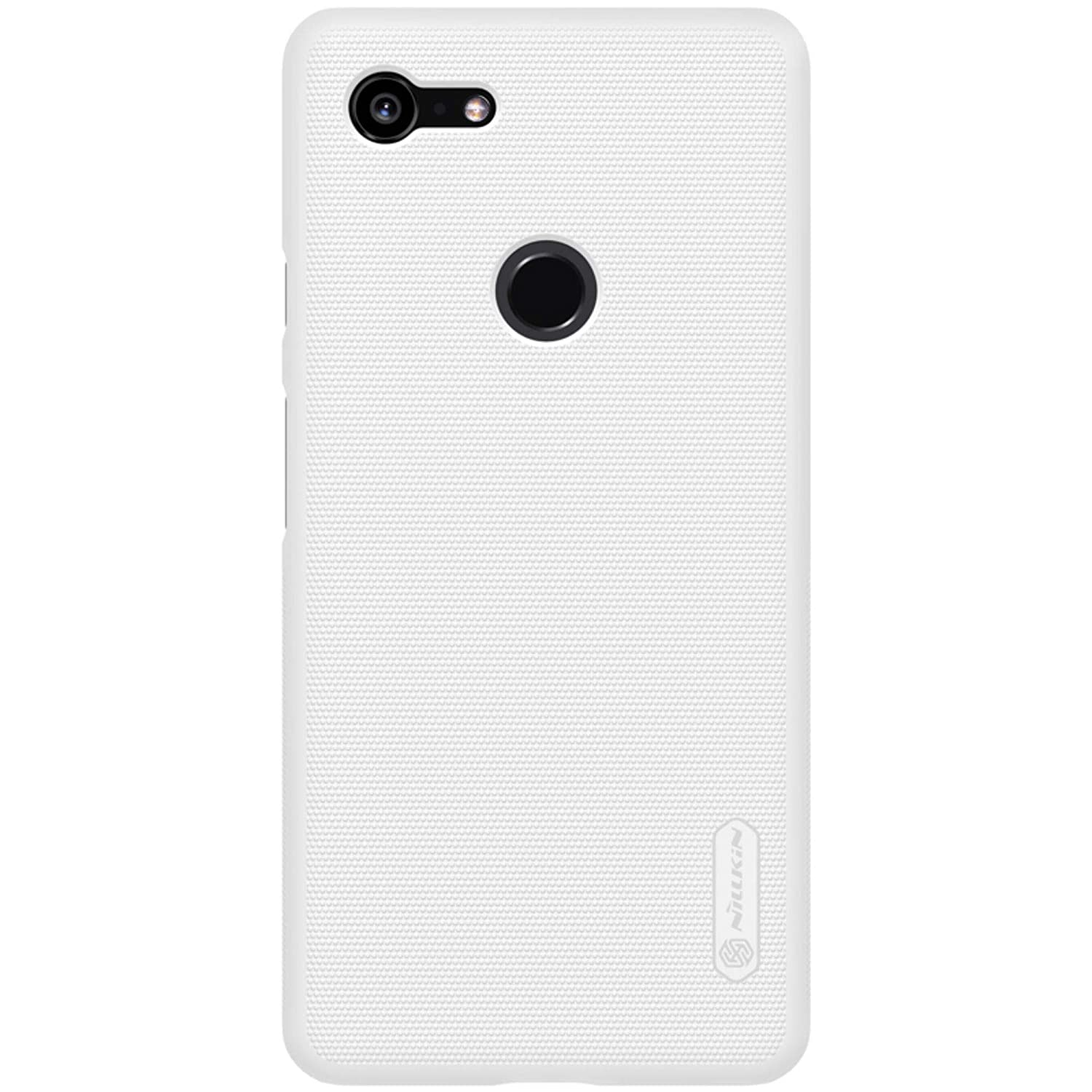 the best attitude 5a338 f3df8 Nillkin Google Pixel 3 XL Case, Frosted Shield Hard Case Back Cover  [Support Wireless Charging] for Google Pixel 3 XL - White