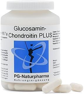 Glucosamina Condroitina - 100 cápsulas de glucosamina - con 500 mg de sulfato de glucosamina y