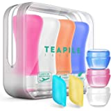 9 Pack Travel Bottles TSA Approved Containers, Leak Proof Travel Accessories,Travel Shampoo And Conditioner Bottles,Perfect for Business or Personal Travel, Fun Outdoors