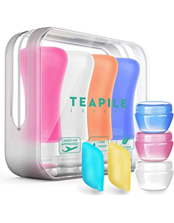 Beauty & Health Refillable Bottles Holiday Shampoo Cream Leak Proof Makeup Mini Empty Plastic Travel Bottles Set Portable Refilable Liquid Containers Professional Fashionable And Attractive Packages