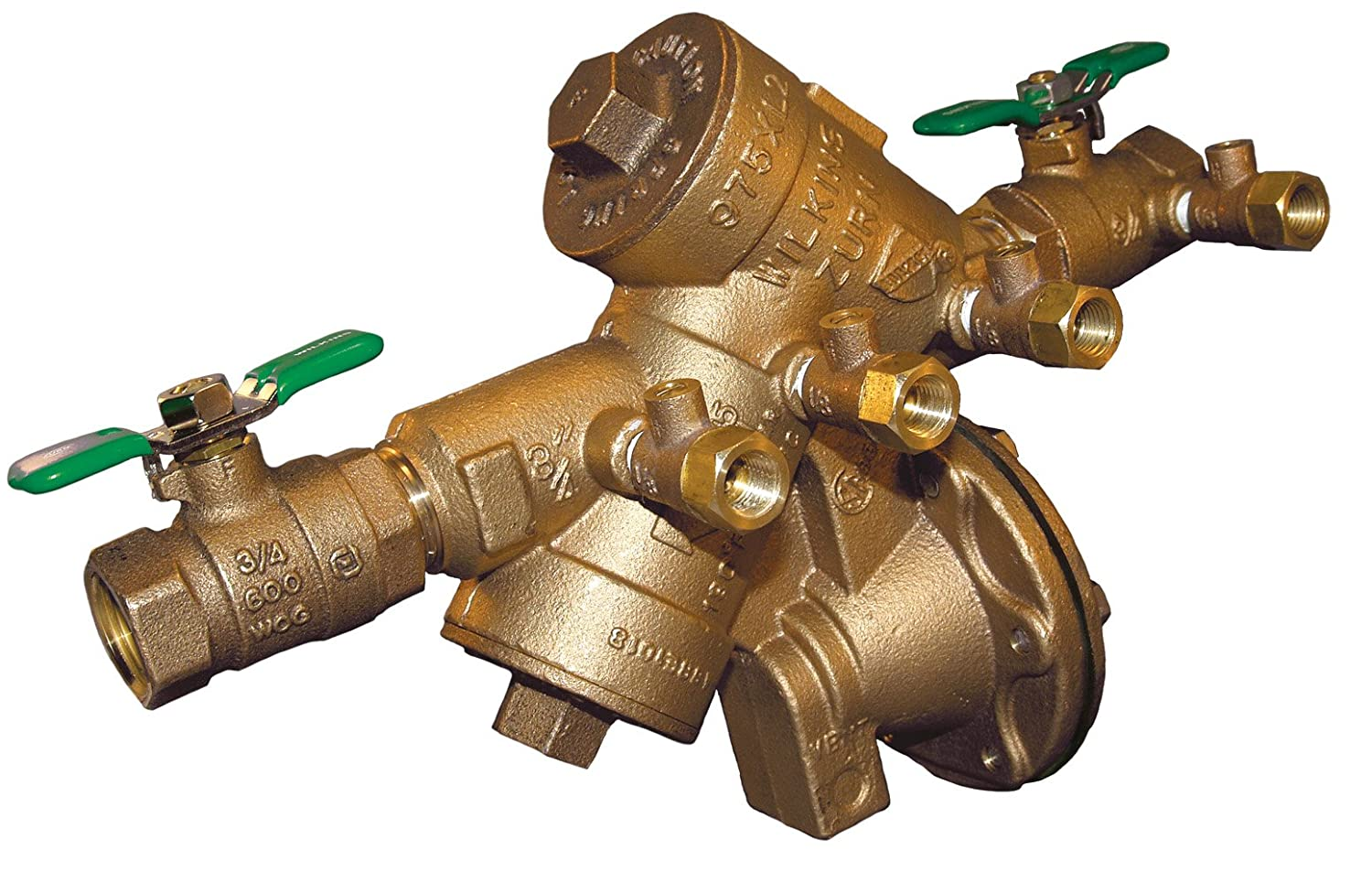 Wilkins 34-975XL2 3/4-Inch Lead Free Reduced Pressure Backflow Preventer
