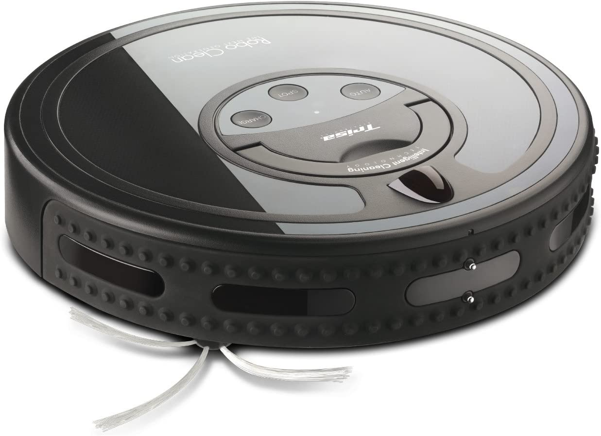 Trisa Electronics Robo Clean - aspiradoras robotizadas (Negro, 70 m²/h, 31W, 31,5 cm, 31,5 cm, 9,5 cm): Amazon.es: Hogar