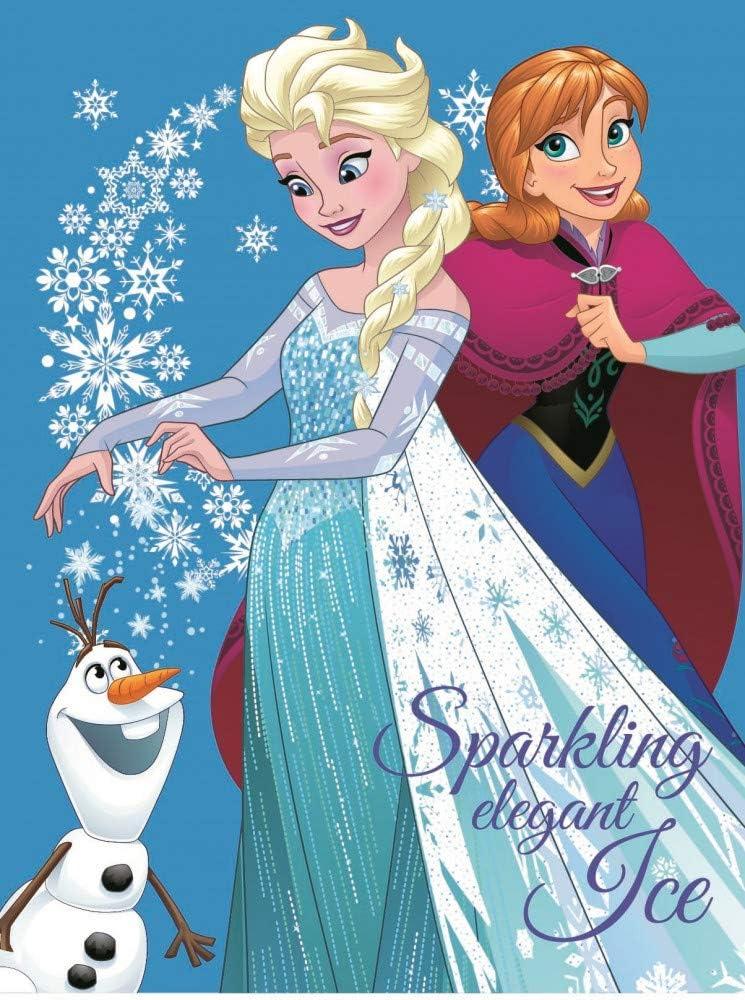 Javoli Frozen Couverture polaire La Reine des Neiges Anna et ELSA