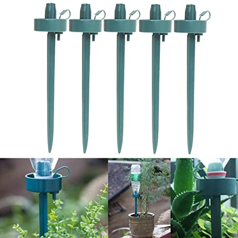 KING DO WAY 5 Irrigatori Automatici Da Giardino Per Vasi, Kit Di  Irrigazione Goccia Per
