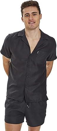 Slydes Delano - Camisa de Playa para Hombre: Amazon.es: Ropa y accesorios