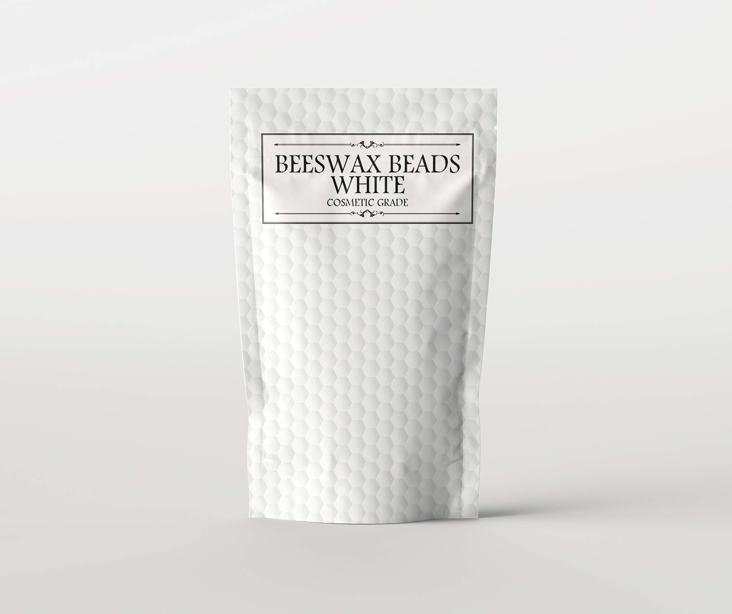 Mystic Moments Beeswax Beads White Cosmetic Grade - 5Kg