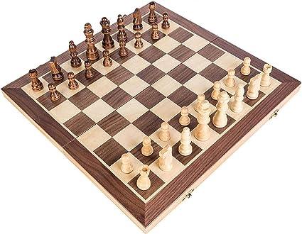 MNBV Juego de ajedrez de Viaje magnético con Bandeja Que