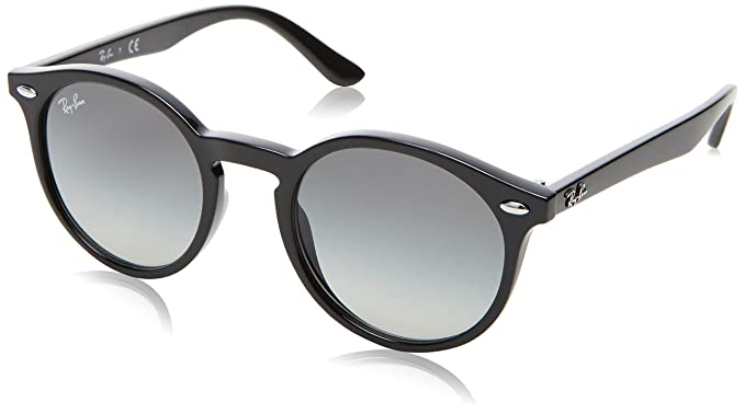 321990c93 Image Unavailable. Image not available for. Color: Ray-Ban Kids' Injected  Unisex Sunglass Round, Black ...