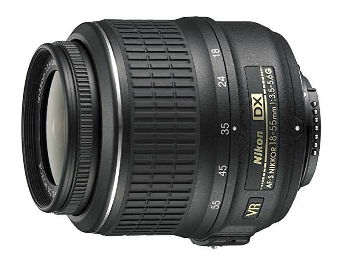 Nikkor Lens AFS DX 18-55 mm f/3.5-5.6G VR (Refurbished): Amazon.es ...