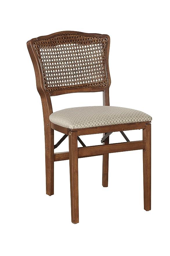 MECO Stakmore - Juego de 2 sillones Plegables de Madera de ...