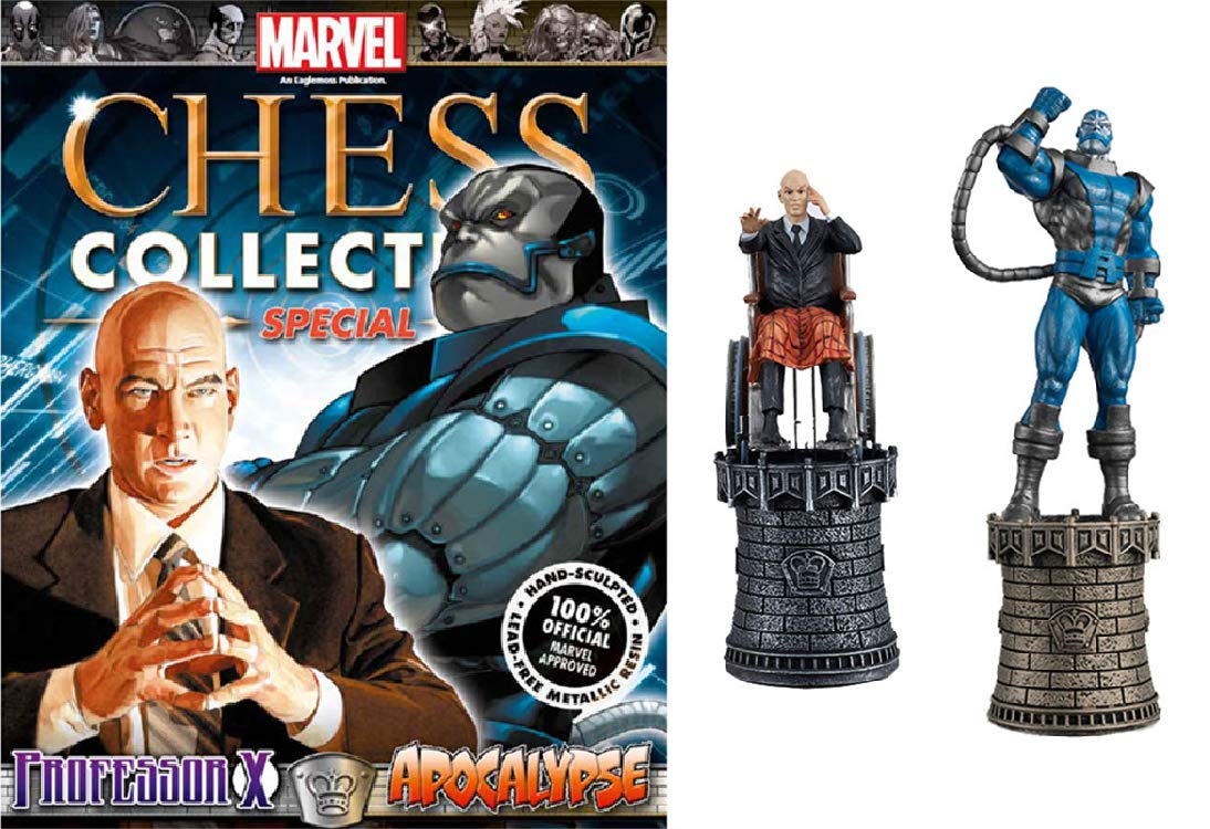 Piece Collector Apocalypse Marvel X Chess And Professor With pqVMSGUz