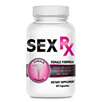 RX Female Enhancement Pills- Libido Enhancer for Women- Female Performance Enhancer to Boost Libido - Natural Female Support Supplement -Intimacy Formula Improves Mood and Finish- 60 Caps