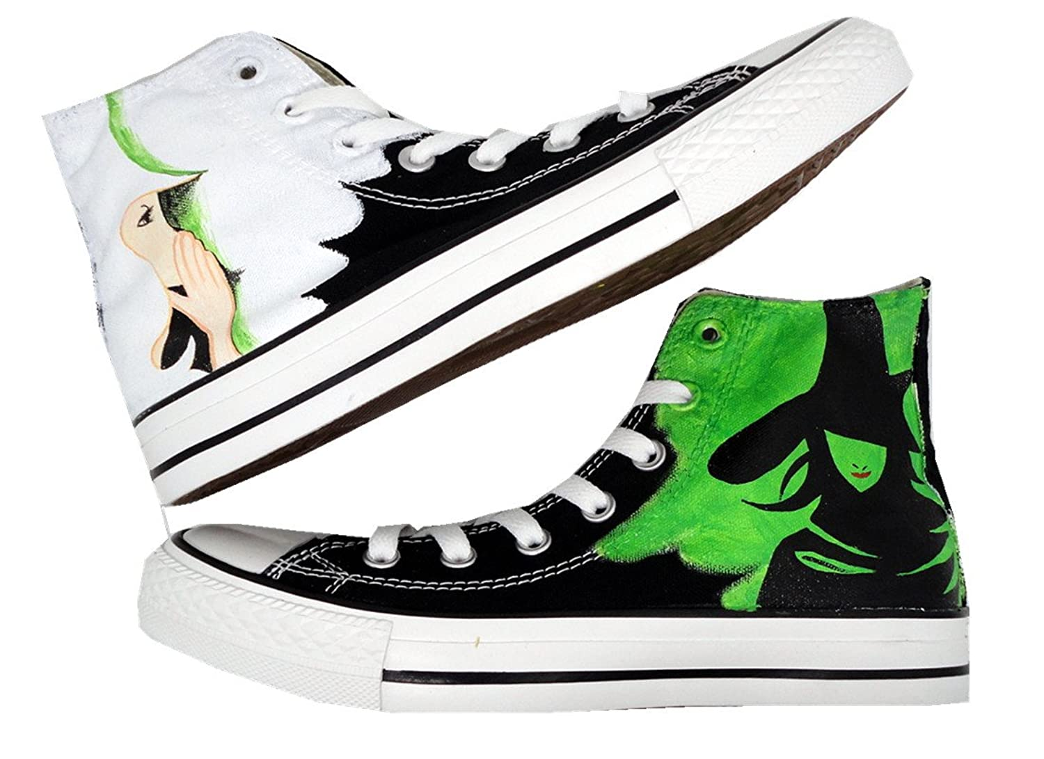 HuanQiu Wicked The Musical Broadway Femme  Fashion Sneakers