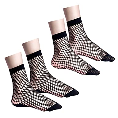 METZUYAN Girls 3 Pack Cotton Rich Design Socks Stripy Stars Printed Fun Cute