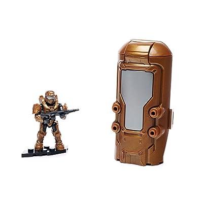 Mega Construx Halo Metallic Copper Cryotube: Toys & Games