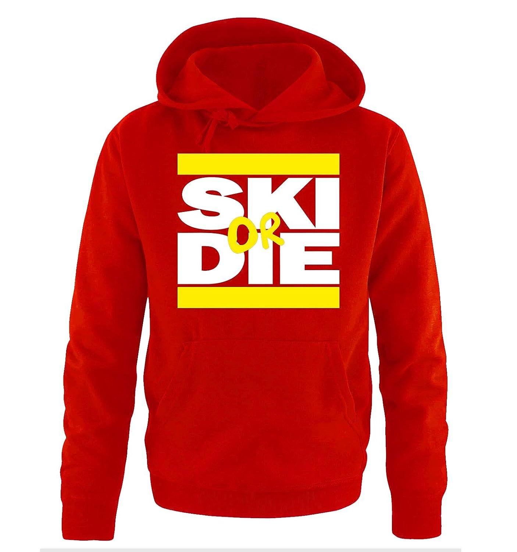 Comedy Shirts - SKI or DIE - Herren Hoodie - Gr. S-XXL Versch. Farben