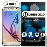 """Samsung Galaxy S6 Pellicola Protettiva , Ubegood 3D Toccare Compatibile [2-Pack] Samsung Galaxy S6 Screen Protector in Vetro Temperato per Samsung Galaxy S6 (5,1"""")"""