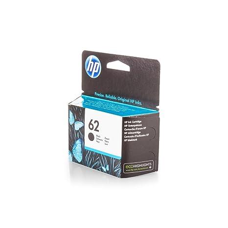 Original para HP 62 cartucho de tinta negra , , Para uso con ...
