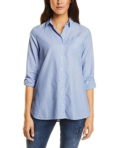 Street One Oxford Stripe Blouse, Blusa para Mujer