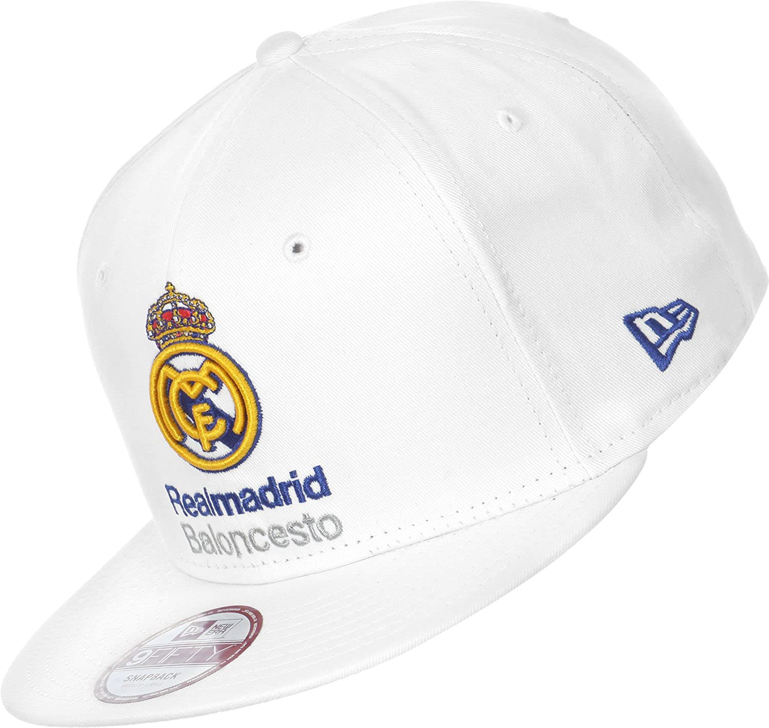 Gorra del Real Madrid New Era. 9Fifty: Amazon.es: Ropa y accesorios