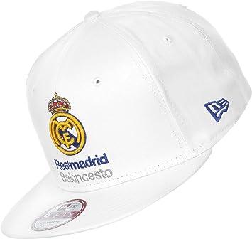 Real Madrid Euroleague 950 Snapback Cap-white - White