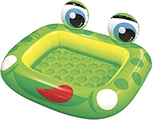 """Jilong Inflatable Frog Baby Pool for Ages 1-3, 50"""" x 43"""" x 8.7"""""""