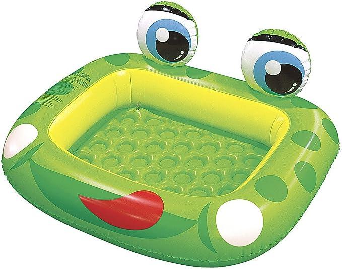 /ø175x62cm Green Children/´s Quick-up Pool with Fun 3D Frog Theme Jilong Frog Pool