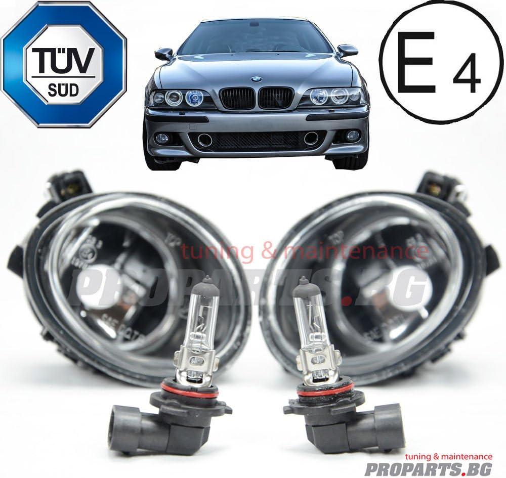 Bmw E46 E39 M3 M5 Fogs Nebelscheinwerfer Lampen M Sport M Tech Set Mit Leuchtmittel Paar Auto
