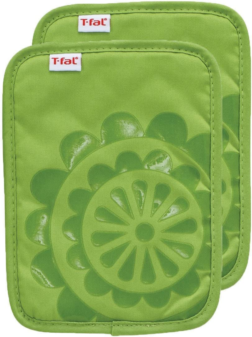 Amazon Com T Fal Textiles 97161 Pot Holder Green Home Kitchen
