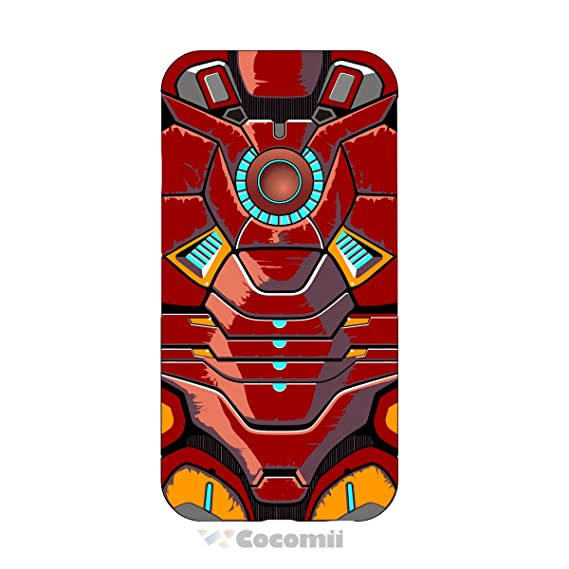 Cocomii Iron Man Armor iPhone SE/5S/5C/5 Case New [Heavy Duty] Premium Tactical Grip Kickstand Shockproof Bumper [Military Defender] Full Body Rugged ...