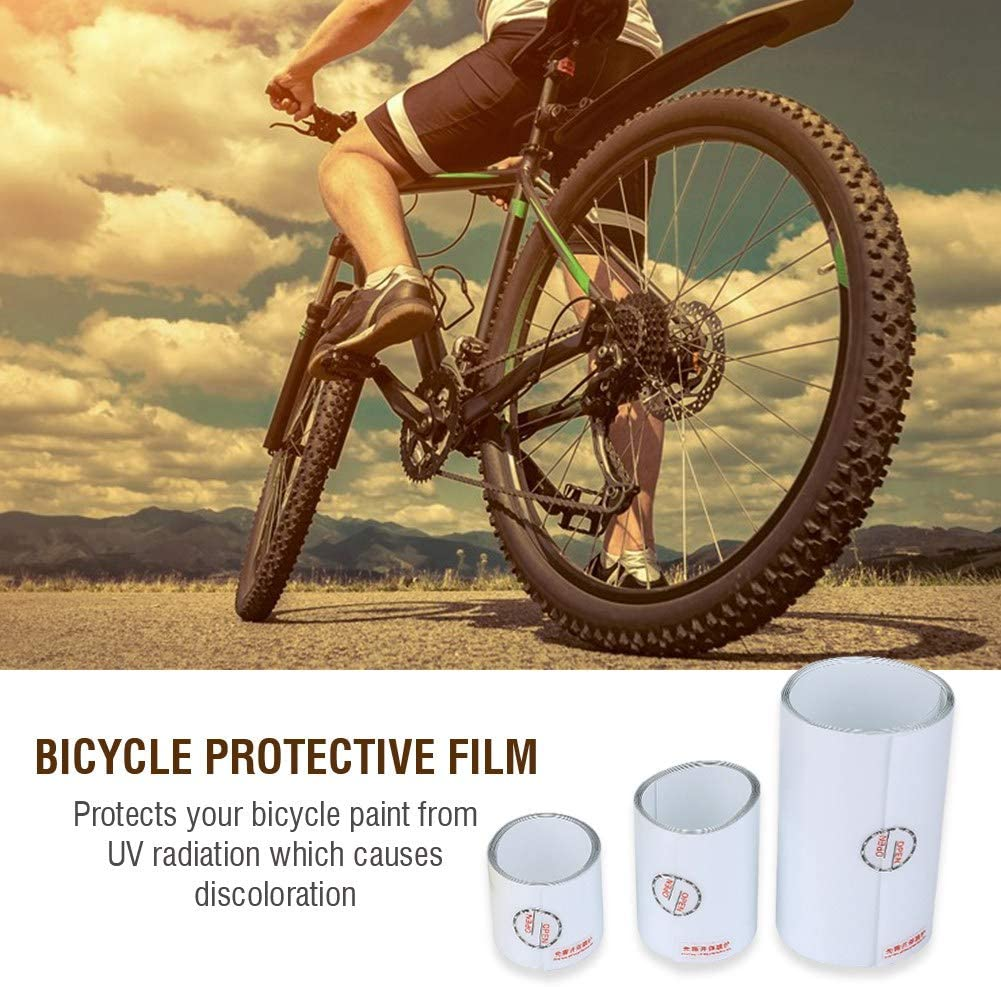 Bicycle Bike Frame Surface Protection Antiscratch Sticker Transparent Film