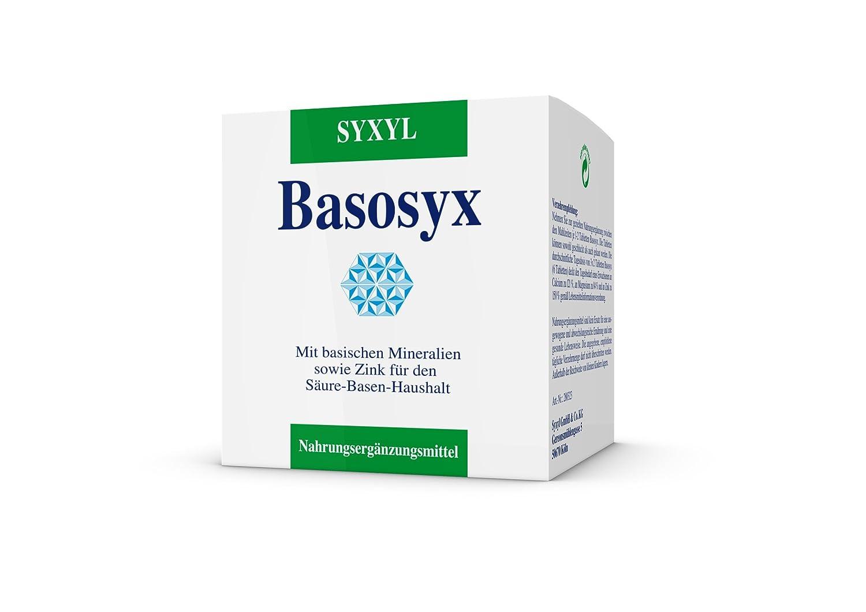 SYXYL Basosyx Tabletten – Nahrungsergänzungsmittel mit basischen ...