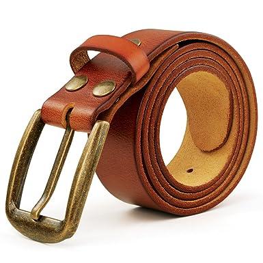 Ceinture homme, LeRan Hommes cuir boucle Ceintures Fashion sangle de  ceinture de ceinture ceinture  Amazon.fr  Vêtements et accessoires d72c5df8f31