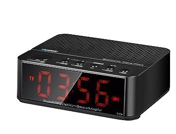 Blaupunkt BLP2100.001, Despertador Compatible con Bluetooth ...