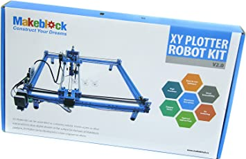 Amazon.es: Makeblock - Bricolaje DIY UNO Drawing Robot Dibujo Educativo XY Plotter V2.0 Kit Grabado por Láser para Arduino Aprendizaje, 90014