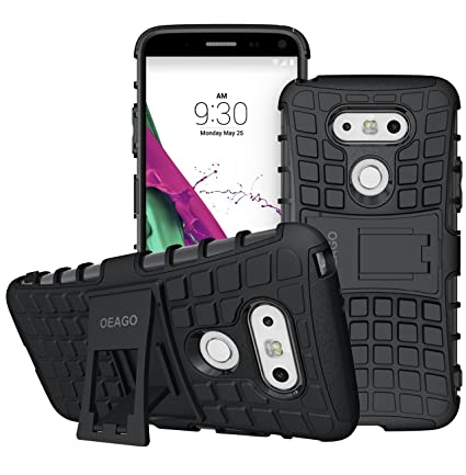 LG G5 Case, OEAGO LG G5 Cover Accessories   Tough Rugged Dual Layer  Protective Case