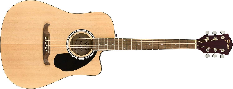Fender FA-125CE Natural Guitarra Acústica