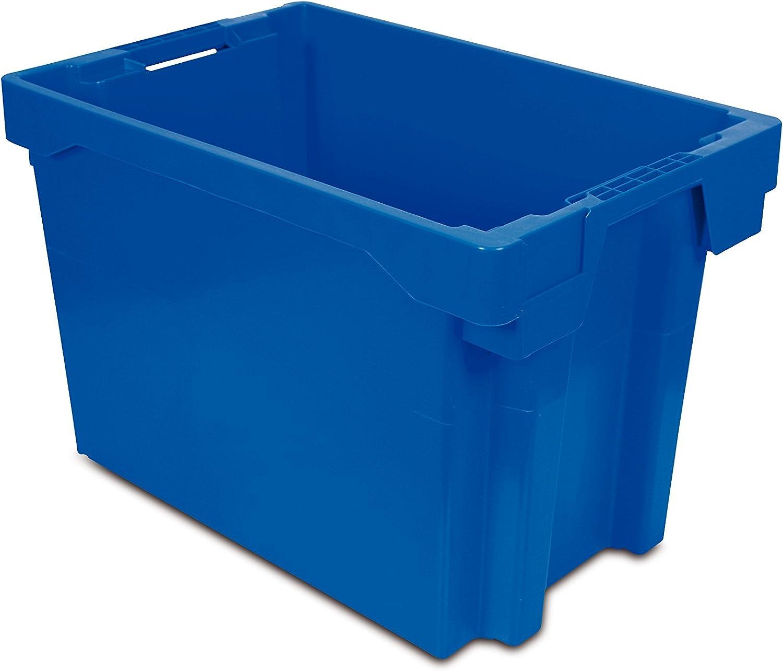 Tayg Euro-caja para almacén y transporte 6440, Azul, 600 x 400 x 400 mm: Amazon.es: Bricolaje y herramientas