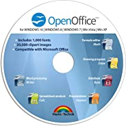 Office Suite Special Edition for Windows 10-8-7-Vista-XP | PC Software and 1.000 New Fonts | Alternative to Microsoft Office