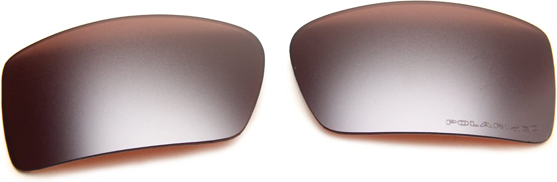 Oakley Men's Gascan Sunglasses Replacement Lenses Wrap