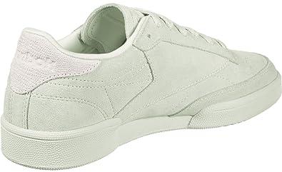low priced e66b1 96134 Reebok Club C 85 NBK, Chaussures de Tennis Fille, Blanc (Opal White