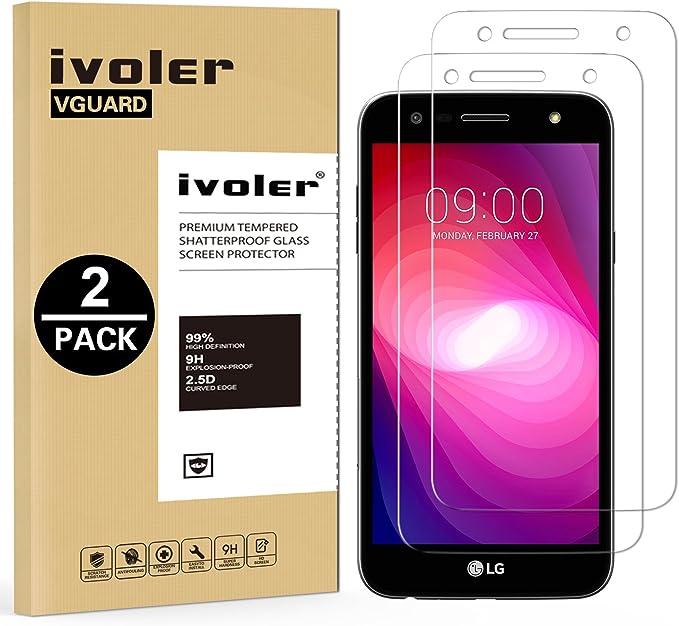 ivoler [2 Unidades] Protector de Pantalla para LG X Power 2 ...