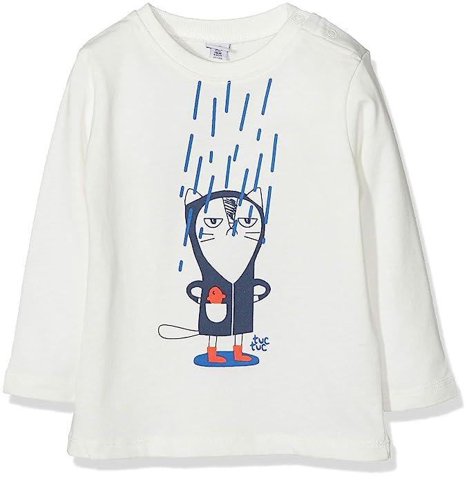 Tuc Tuc Prenda Gato Niño Fish Rain, Camiseta para Niños: Amazon.es: Ropa y accesorios