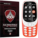Ace Armor Shield Protek Guard Screen Protector for The Nokia 3310 (2017) with Free Lifetime Replacement Warranty