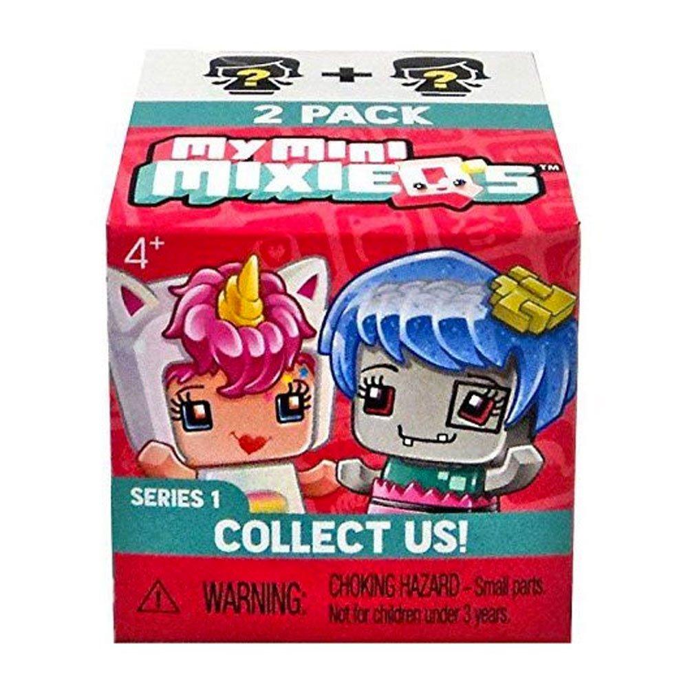 Amazon com mtldvt74 mattel dvt74 my mini mixieqstm mystery 2 pack toys games
