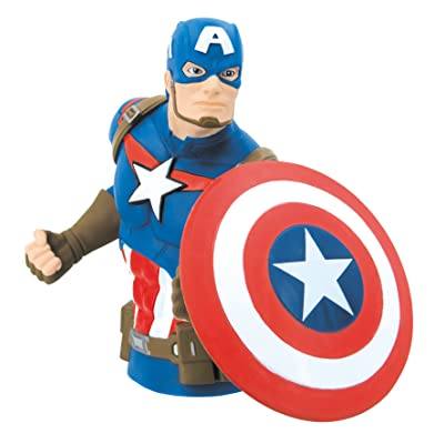 Marvel Bust Bank, Multi Color: Toys & Games