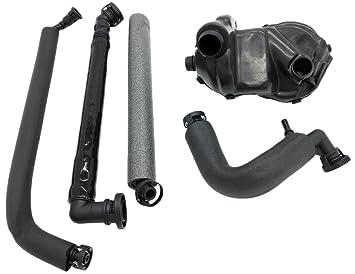 Okay 5pcs clima frío Kit de separador de aceite de motor para BMW E46 325i 330i
